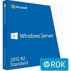 MS WINDOWS SERWER HP ROK 2012 R2 Standard EN/FR/IT